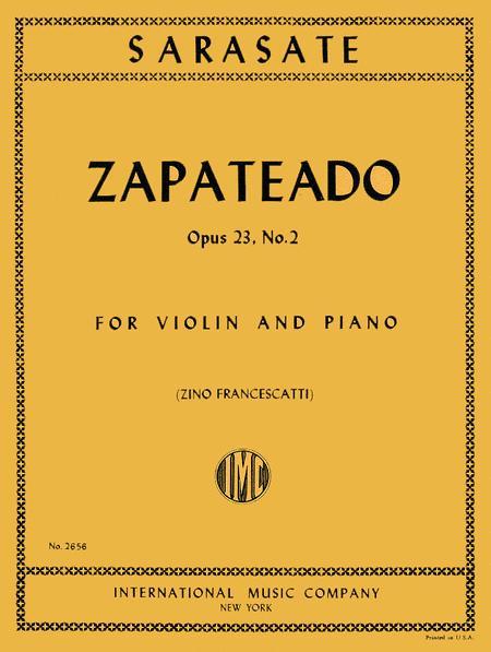 Zapateado, Op. 23 No. 2