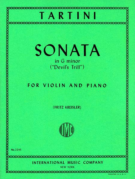 Sonata in G minor 'Devil's Trill'