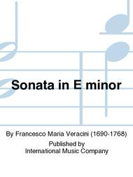 Sonata in E minor