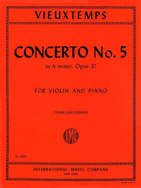 Concerto No. 5 in A minor, Op. 37