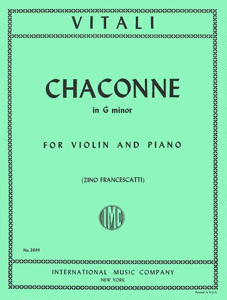 Chaconne in G minor