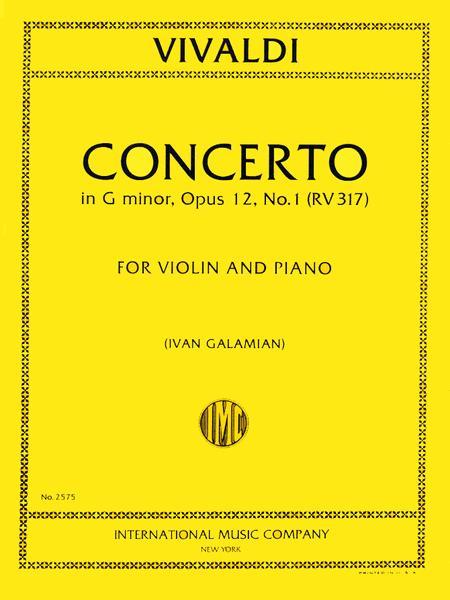 Concerto in G minor, RV 317 (Op. 12, No. 1)