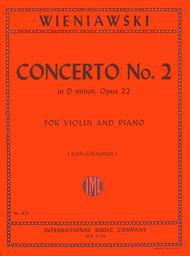 Concerto No. 2 in D minor, Opus 22