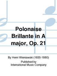 Polonaise Brillante in A major, Op. 21