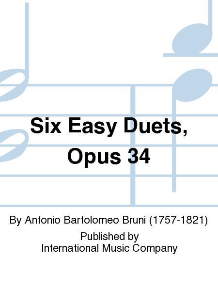 Six Easy Duets, Opus 34