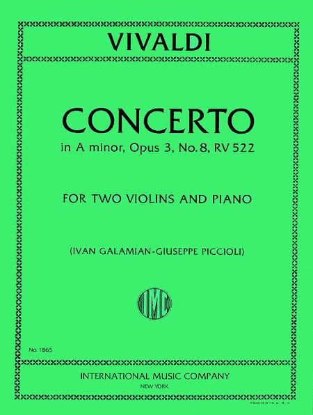 Concerto in A minor, RV 522