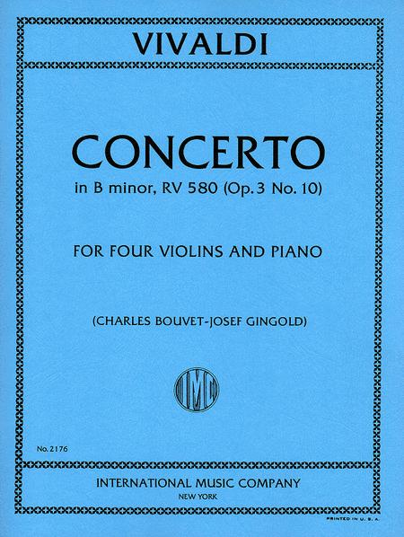 Concerto in B minor, RV 580 (Op. 3, No. 10)