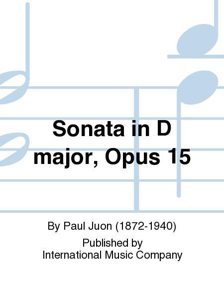 Sonata in D Major, Opus 15
