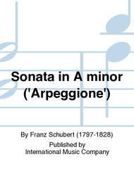 Sonata in A minor ('Arpeggione')