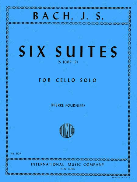 Six Suites, BWV 1007-1012