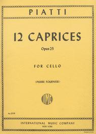 12 Caprices, Op. 25