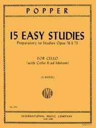 15 Easy Studies (1st position)