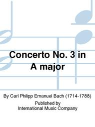 Concerto No. 3 in A major