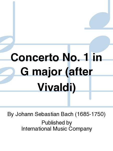 Concerto No. 1 in G major (after Vivaldi)