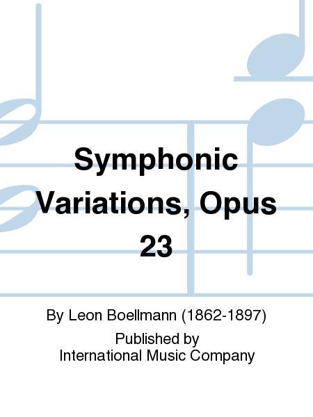 Symphonic Variations, Opus 23