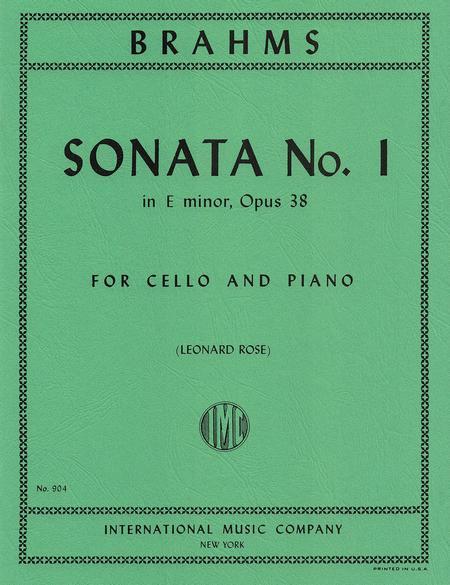 Sonata No. 1 in E minor, Op. 38