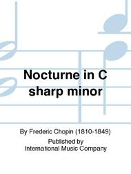 Nocturne in C sharp minor