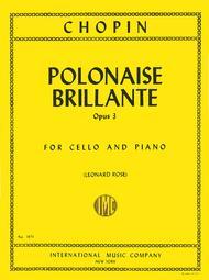 Polonaise Brillante, Op. 3