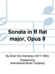 Sonata in B flat major, Opus 8