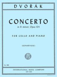 Concerto in B minor, Opus 104