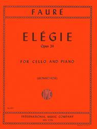 Elegie, Opus 24