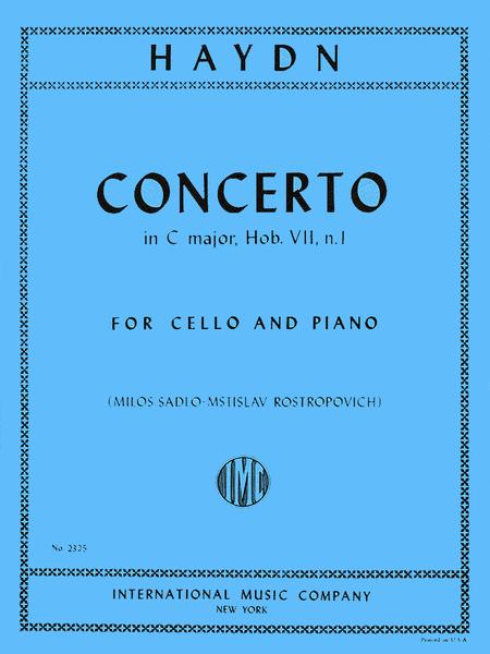 Concerto in C major, Hob. VIIb: No. 1