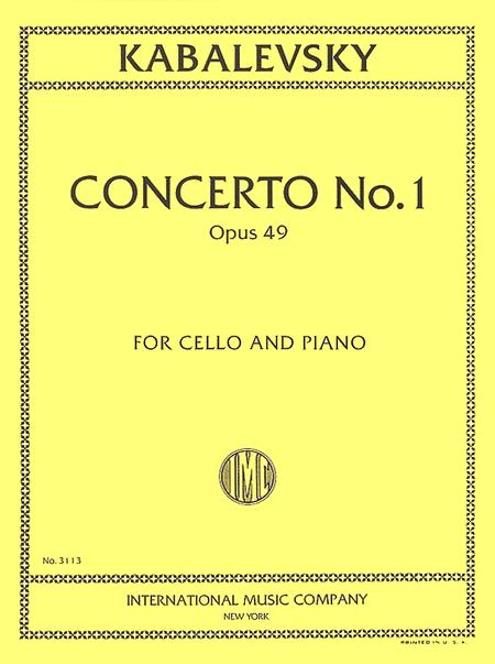 Concerto No. 1 in G minor, Opus 49