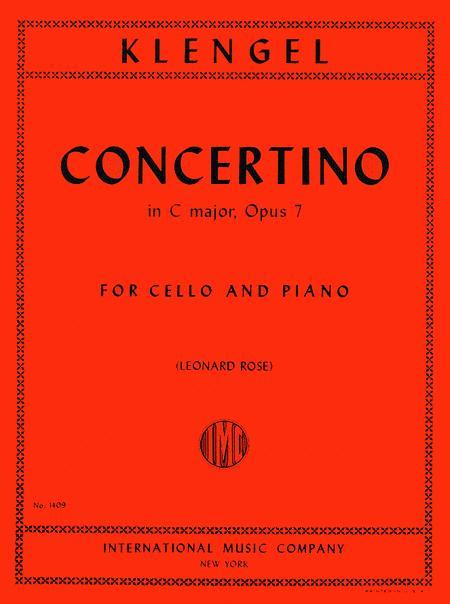 Concertino in C major, Op. 7