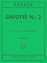Gavotte No. 2, Op. 23