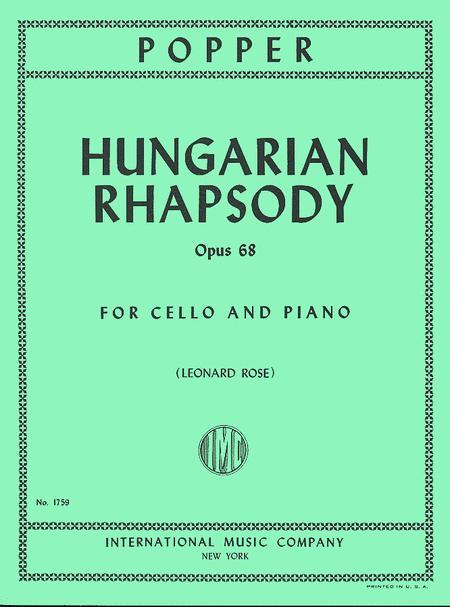 Hungarian Rhapsody, Opus 68