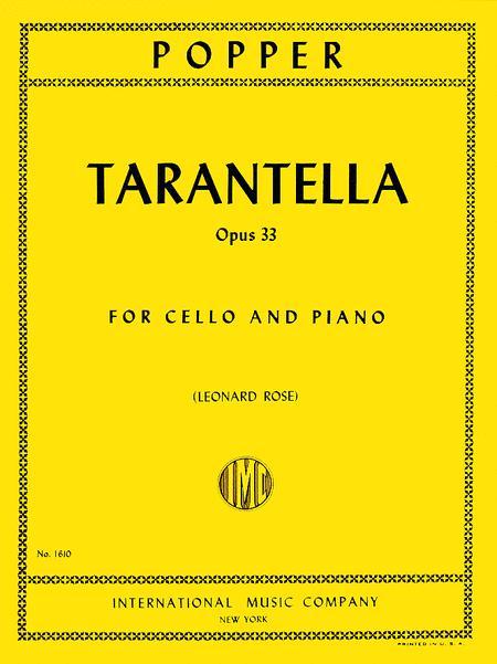 Tarantella, Opus 33