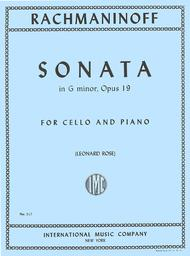 Sonata in G minor, Op. 19