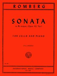 Sonata in B flat major, Op. 43 No. 1