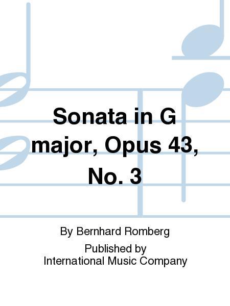 Sonata in G major, Opus 43, No. 3