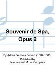Souvenir de Spa, Opus 2