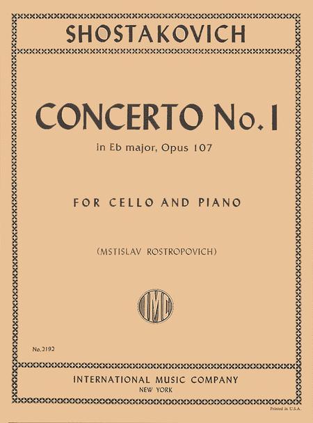 Concerto No. 1, Op. 107