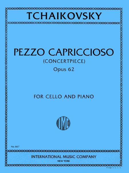 Pezzo Capriccioso, Opus 62. Concertpiece
