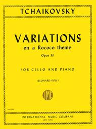 Variations on a Rococo Theme, Op. 33