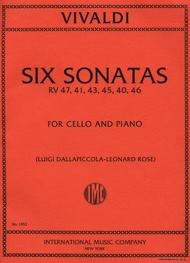 Six Sonatas, RV 47, 41, 43, 45, 40, 46