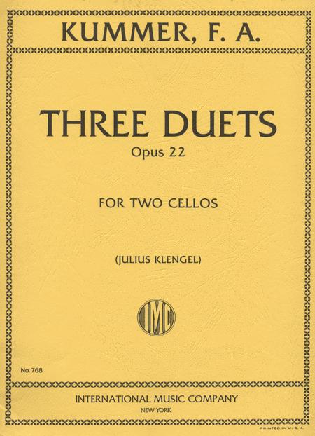 Three Duets, Op. 22