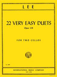 22 Very Easy Duets, Opus 126