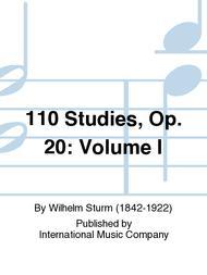 110 Studies, Op. 20: Volume I