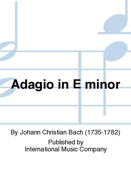 Adagio in E minor