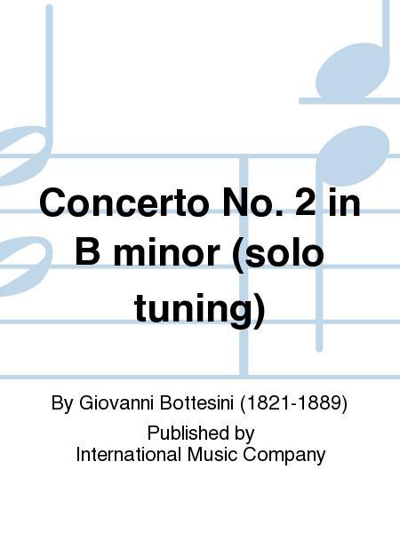 Concerto No. 2 in B minor (solo tuning)
