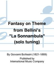 Fantasy on Theme from Bellini's