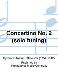 Concertino No. 2 (solo tuning)