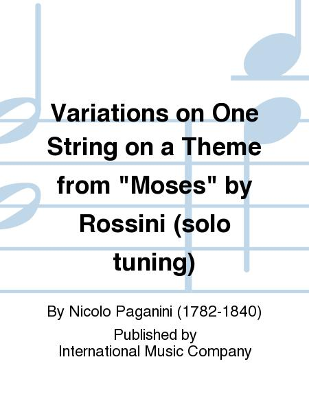Variations on One String on a Theme from