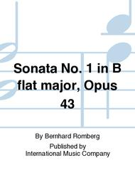 Sonata No. 1 in B flat major, Opus 43