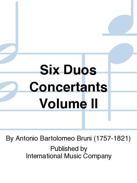 Six Duos Concertants Volume II