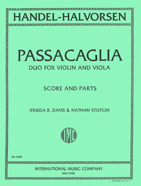 Passacaglia - Duo for Violin and Viola
